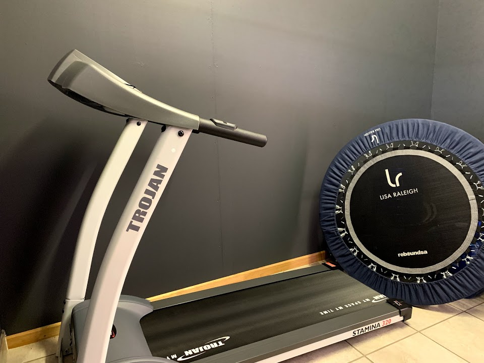 Treadmill With Rebounder